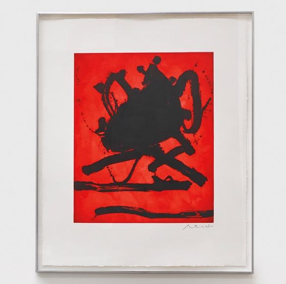 Robert Motherwell-Red Sea II (Walker Art Center 242)-1979