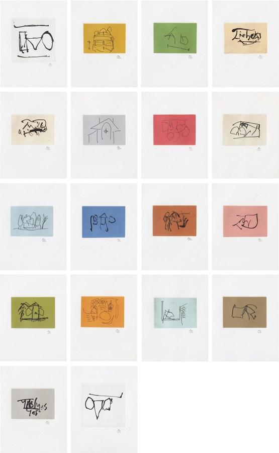 Robert Motherwell-Ulysses: eighteen prints-1988