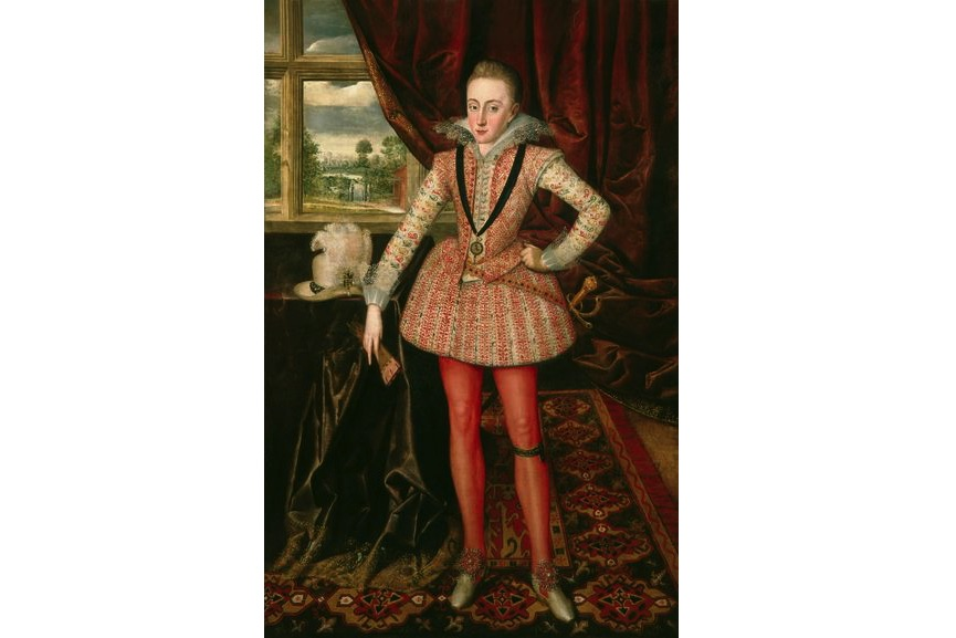 Robert Peake the Elder, Henry, Prince of Wales, c. 1610
