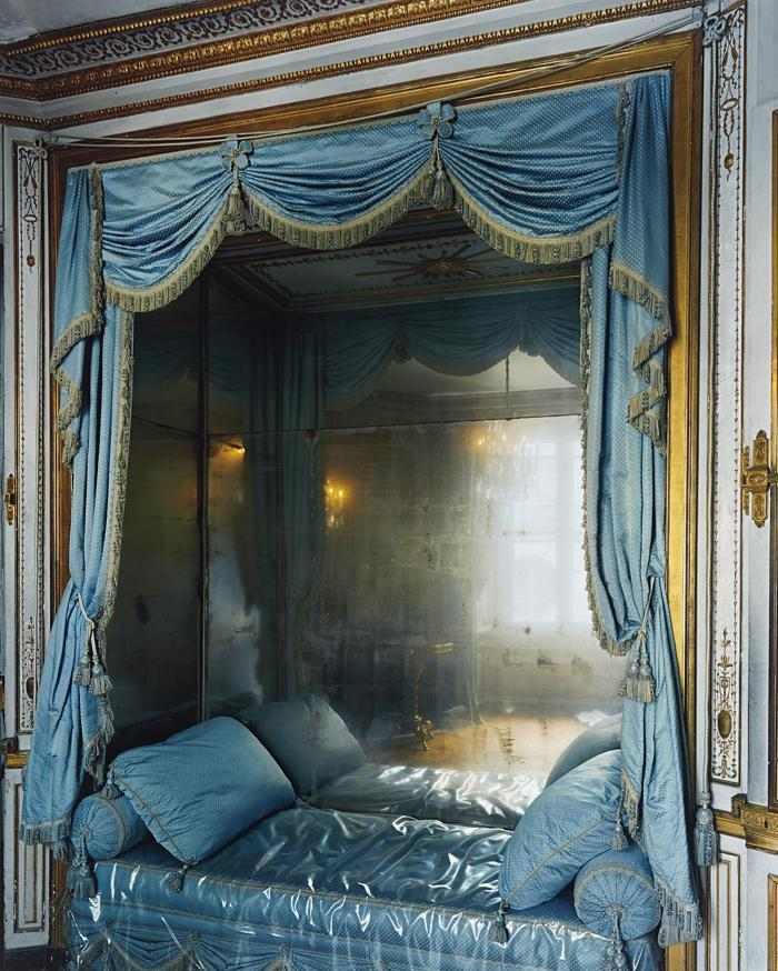 Robert Polidori-La Meridienne, Marie-Antoinette's Bed, Versailles-2007