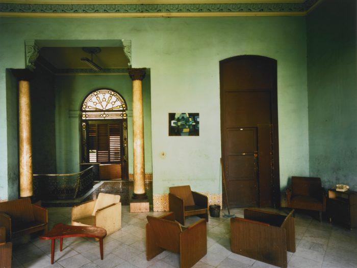 Robert Polidori-Paseo Del Prado 105 (Between Genios And Rufugio) Habana Vieja-1997
