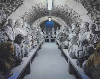 Robert Polidori-Reserve des Bustes, Chateau de Versailles-1985