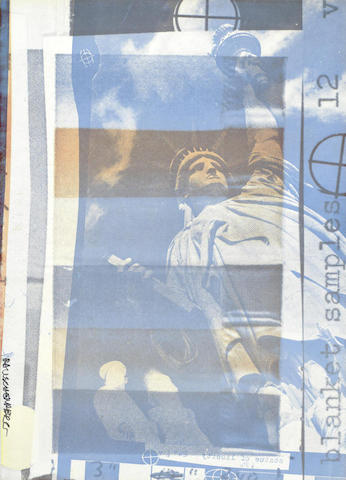 Robert Rauschenberg-Blanket Samples-