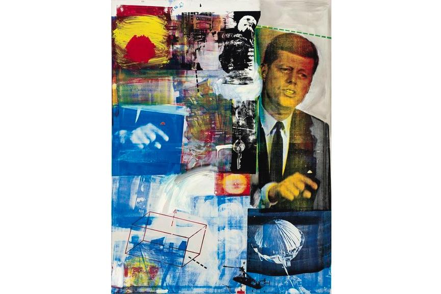 Robert Rauschenberg - Buffalo II, 1964