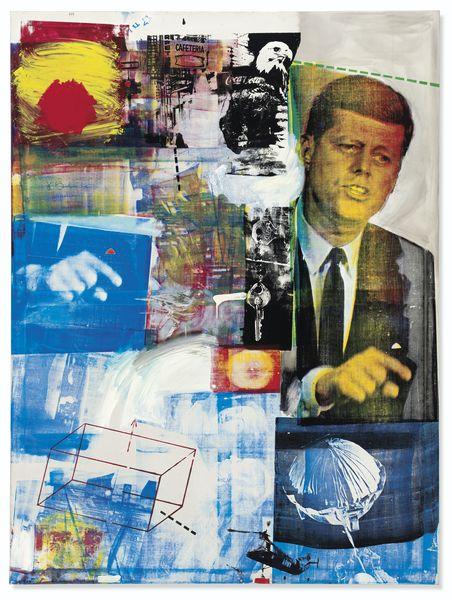 Robert Rauschenberg - Buffalo II, 1965