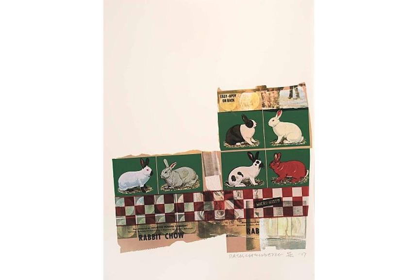 Robert Rauschenberg - Chow Bags - Rabbit Chow, 1977
