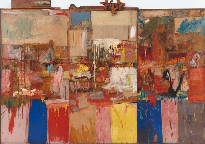 Robert Rauschenberg use paintings terms like Robert Rauschenberg - Collection, 1954 museum series policy american abstract artist jasper johns rauschenberg robert