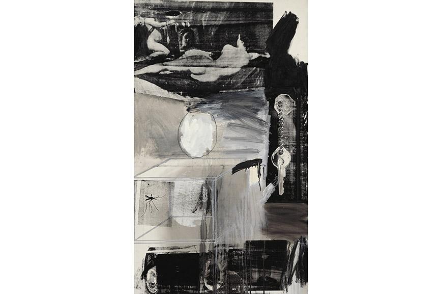 Robert Rauschenberg - Exile, 1962