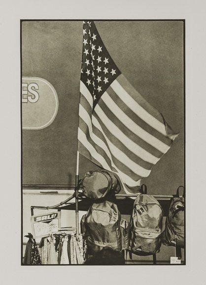 Robert Rauschenberg - Flags from Suite 1