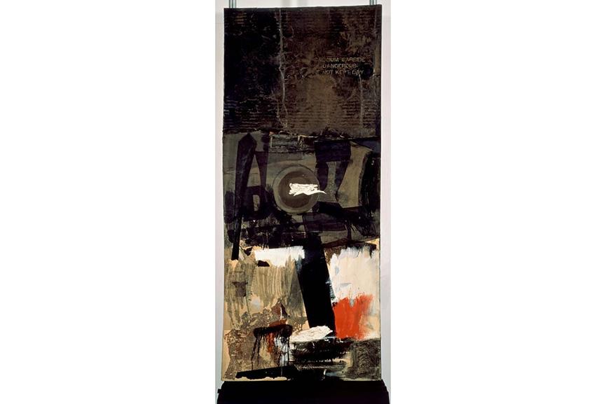 Robert Rauschenberg - Forge, 1959