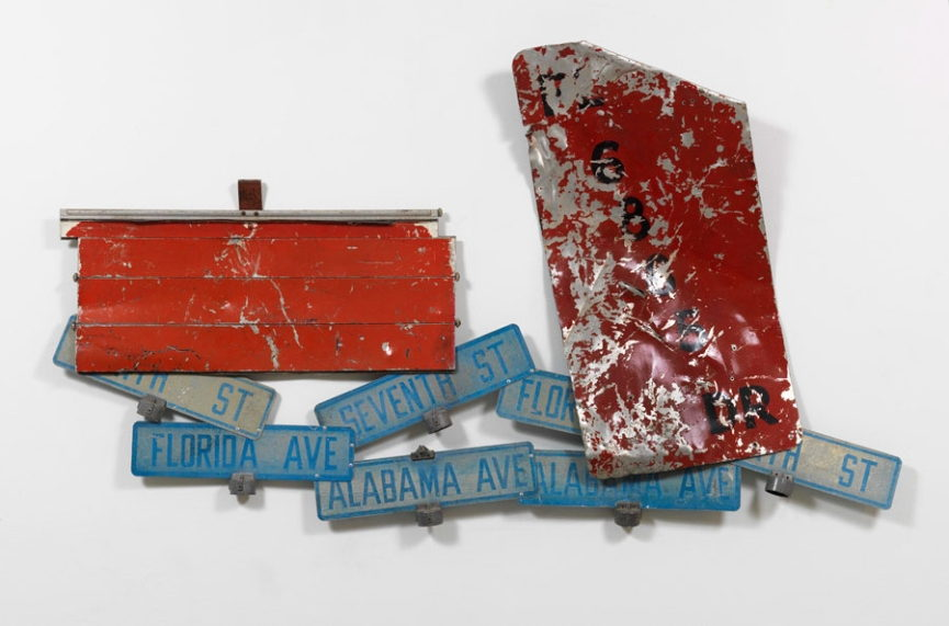 Robert Rauschenberg - Works on Metal
