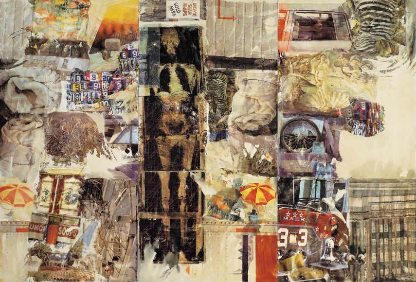 Robert Rauschenberg museum view materials robert