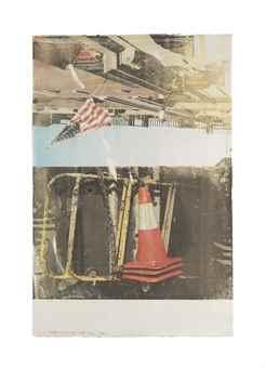 Robert Rauschenberg-Pose (Waterworks)-1994