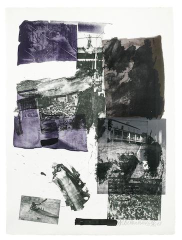 Robert Rauschenberg-Promise-1968