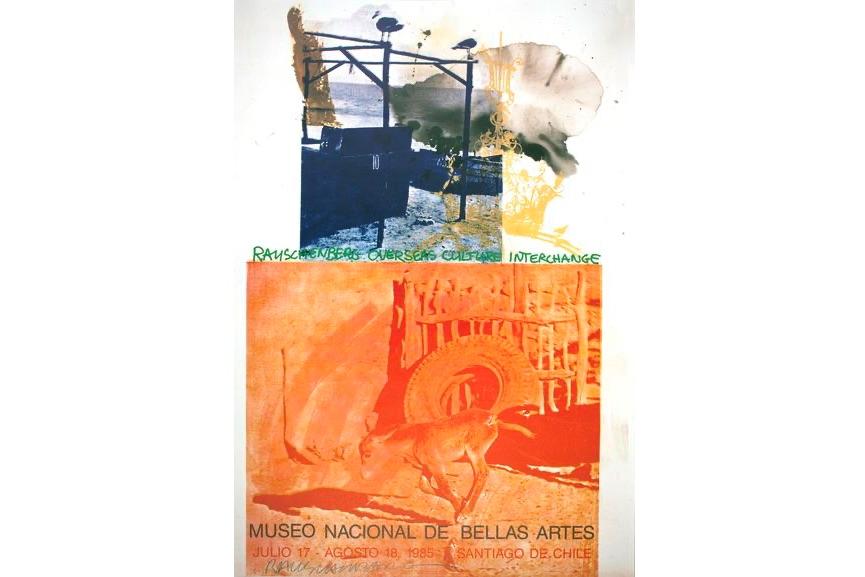 Robert Rauschenberg - ROCI: Chile, 1985