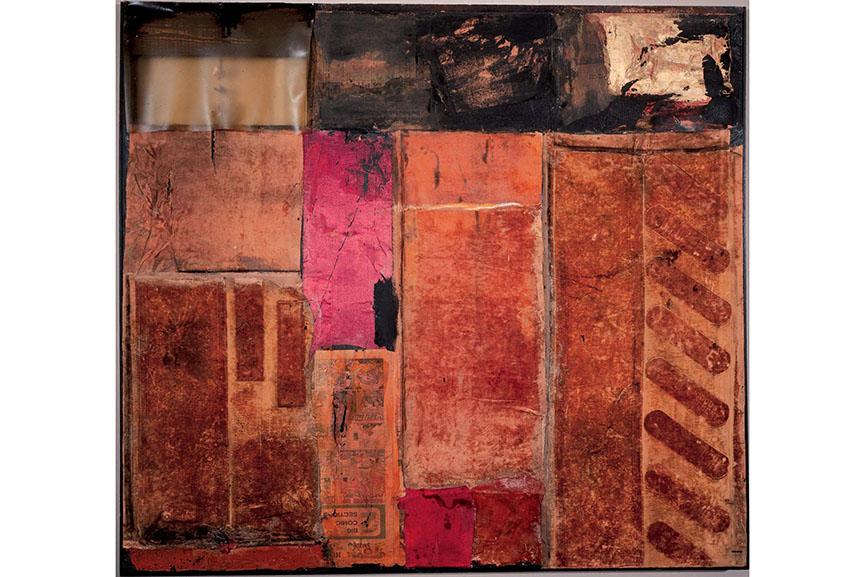 Robert Rauschenberg - Red Interior, 1954