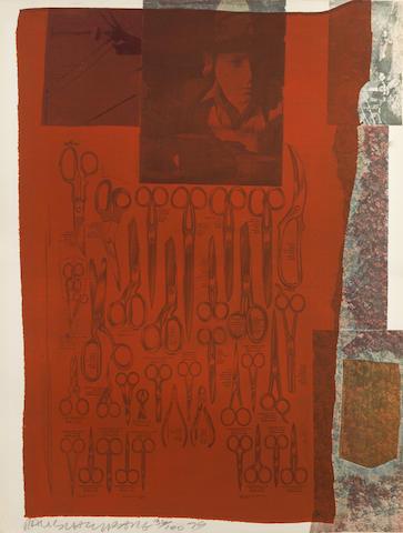 Robert Rauschenberg-Scissors-1979