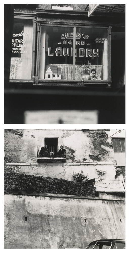 Robert Rauschenberg-Selected Images ('Laundry N. Y. C. and Tangier')-1955