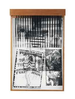 Robert Rauschenberg-Sling-Shots Lit #8, Black State-1985