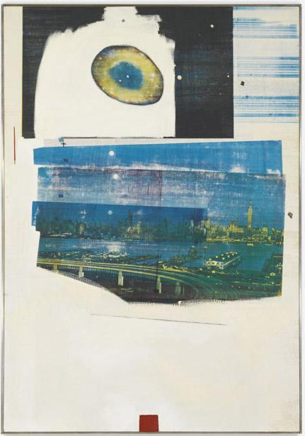 Robert Rauschenberg-Star Grass-1963