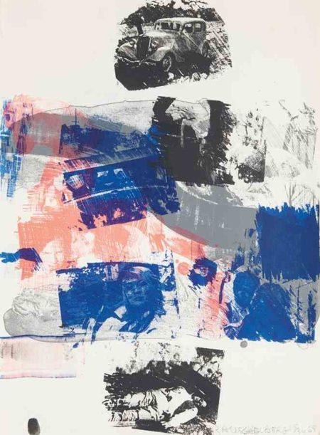Robert Rauschenberg-Still, from Reels (B+C)-1968