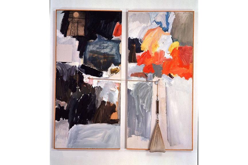 Robert Rauschenberg - Studio Painting, 1961