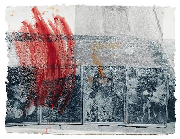 Robert Rauschenberg-Untitled-1985