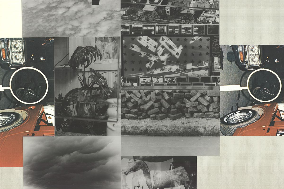 Robert Rauschenberg - Untitled (detail)