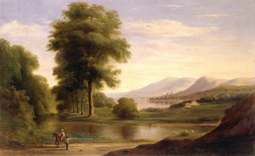Robert Seldon Duncanson - Meeting by the River