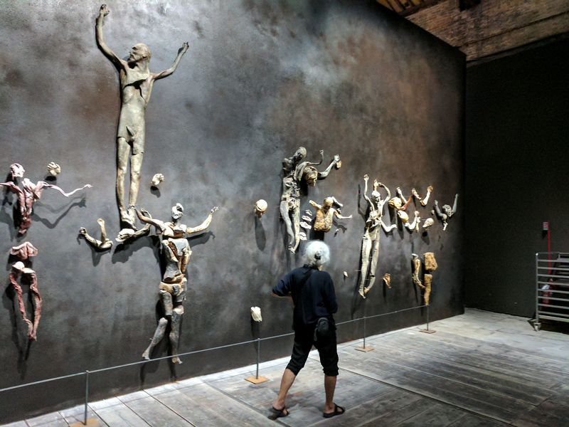 Roberto Cuoghi, The Imitation of Christ - 57th Venice Biennale, Italy