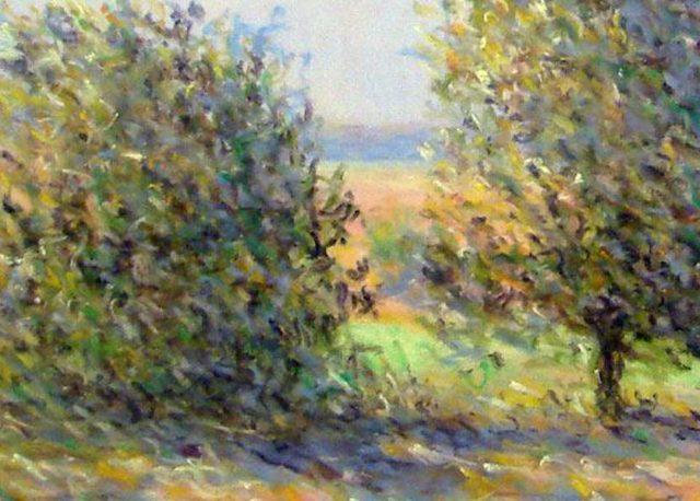 Rodolphe Planquette - Bouquet d'arbres (Detail) - Image Copyright artist