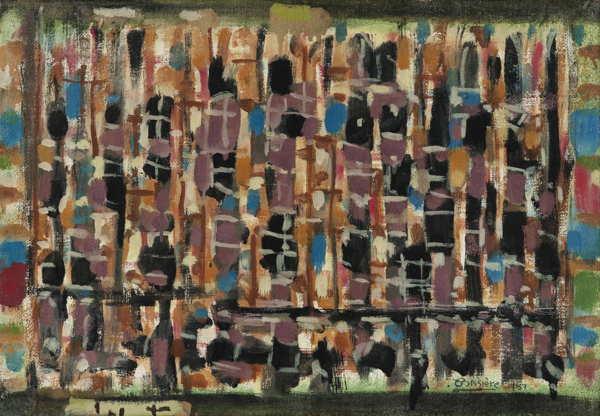 Roger Bissiere-Composition 370-1957