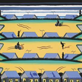Roger Brown-Painter Of The Dunes-1977