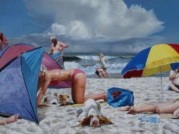 Rolf Ohst - Dogsbeach (detail), 2016