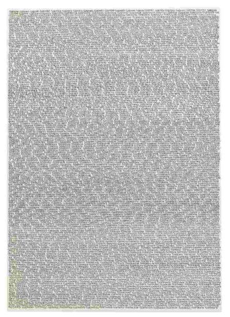 Roman Opalka-Opalka 1965 / 1 - Infinity, Detail 537179 - 539664 (Carte De Voyage)-1965