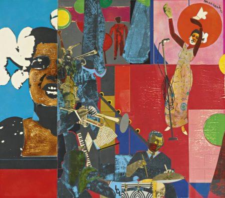 Romare Bearden-Billie Holiday-1973