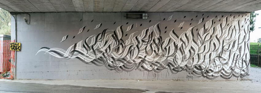 Romeo - wall in Varese for Urban Canvas Festival powered by WG Art, 2015