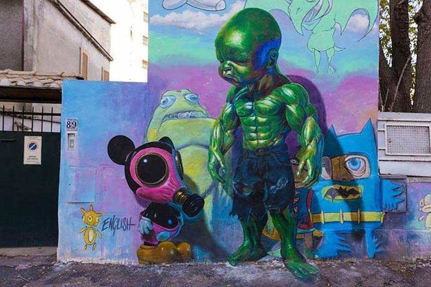 British street art