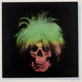 Ron English-Andy Wharol Skull