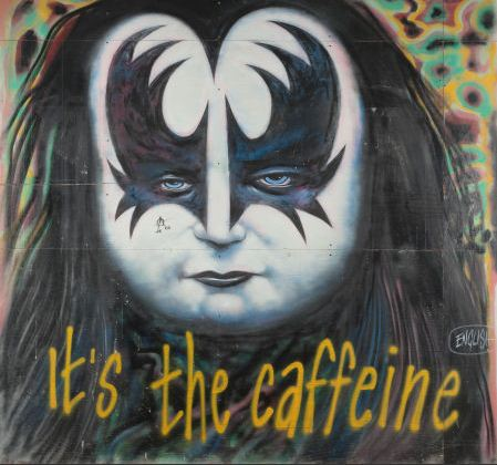 Ron English-It's the caffeine-1999