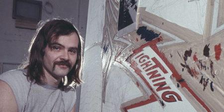 Ron Kleemann in his studio, 1971, photo CREDIT JACK MITCHELL