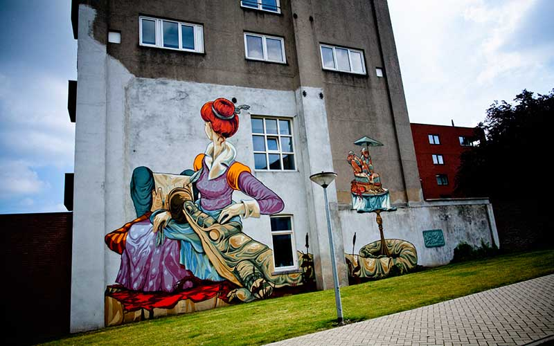 Rookie the Weird - Heerlen Murals 2015