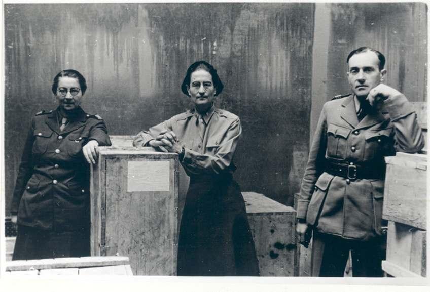 Rose Valland Edith Standen and Hubert de Bry