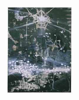 Ross Bleckner-The Seventh Examined Life-1990