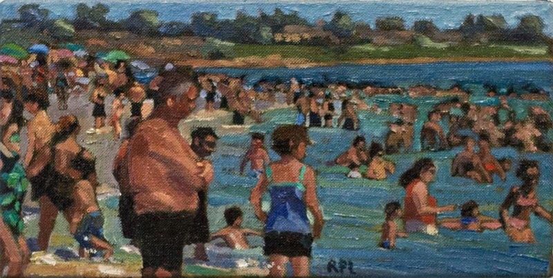Roxann Poppe Leibenhaut - People in the Water, 2013