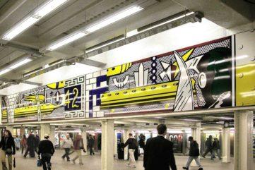 6 Places to See Roy Lichtenstein Art in Public