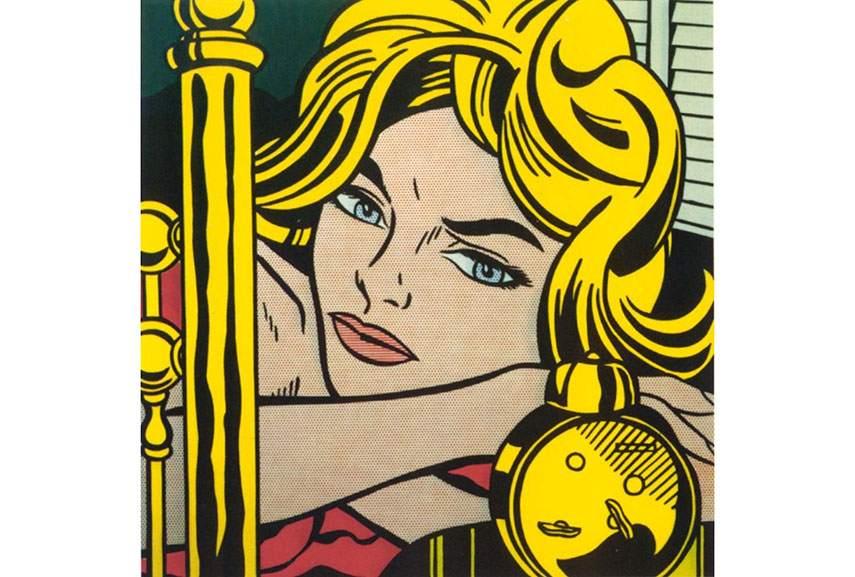 American Pop Art artists such as Lichtenstein and British artist Richard Hamilton were known throughout the world of painting