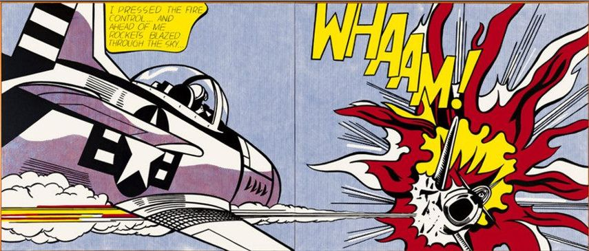 Roy Lichtenstein – Whaam!, 1963