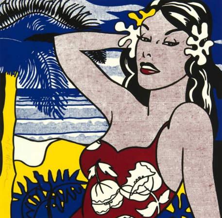 Roy Lichtenstein-Aloha-