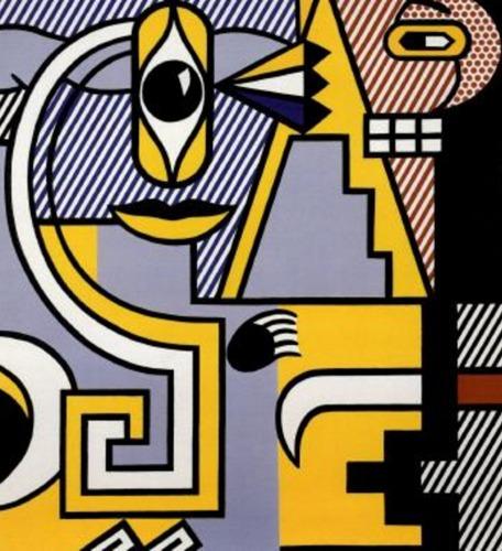 Roy Lichtenstein-Amerind Composition-1979